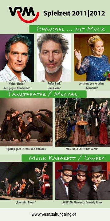 mit Musik Musik Kabarett / Comedy Tanztheater / Musical - Kultur in ...