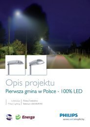 opis projektu - Philips Lighting Poland