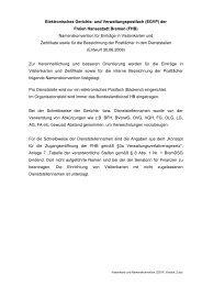 und Verwaltungspostfach (EGVP) - Elektronischer Rechtsverkehr ...
