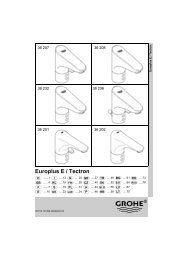 Europlus E / Tectron - GROHE