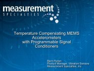 Temperature Compensating MEMS Accelerometers with ...