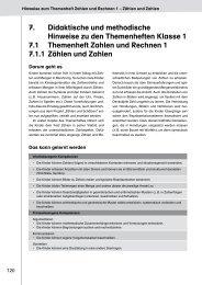 7. Didaktische und methodische Hinweise zu den Themenheften ...