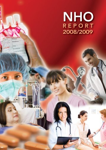 NHO Report 2008 2009 - Irish Blood Transfusion Service