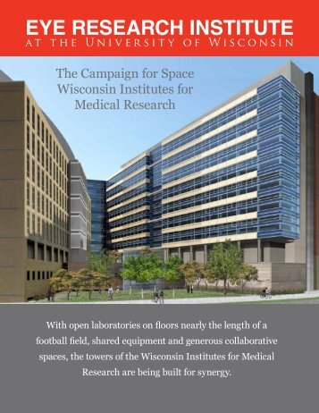 The Campaign For Space - McPherson Eye Research Institute