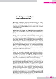 221 Liebe Kolleginnen und Kollegen, liebe Leserinnen und Leser,