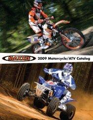 2009 Motorcycle/ATV Catalog - Maxxis Global