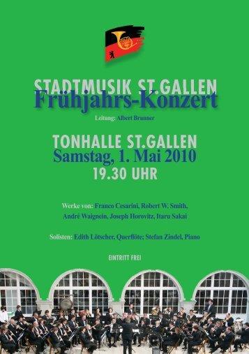 Frühjahrs-Konzert - Stadtmusik SG