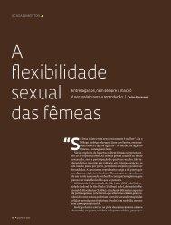 A flexibilidade sexual das fêmeas - Revista Pesquisa FAPESP