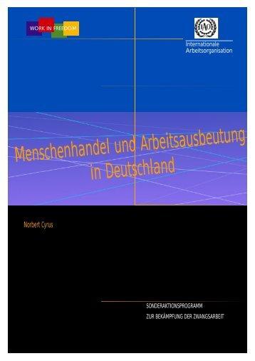 Menschenhandel und Arbeitsausbeutung in Deutschland