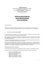 MODELABS GROUP Société anonyme à directoire et conseil de ...