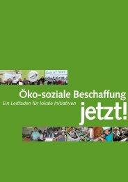 Öko-soziale Beschaffung – jetzt! - Christliche Initiative Romero