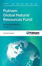 Prospectus - Putnam Investments