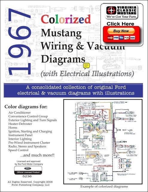 demo  1967 mustang wiring and vacuum diagrams