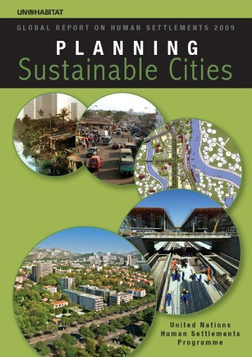 Planning Sustainable Cities - Indiagovernance.gov.in