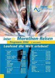 interair Marathon-Reisen
