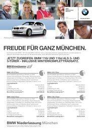 FREUdE FüR ganz MünchEn. - Radio Gong 96,3
