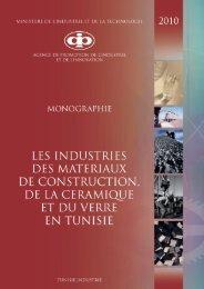 Industries des Matériaux de Construction, de la - Tunisie industrie