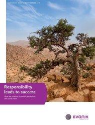 Corporate Responsibility Report 2011 - Evonik Industries