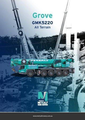 220 TONNE Grove GMK5220