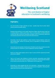 Wellbeing Scotland 2007.pdf - Universities Scotland