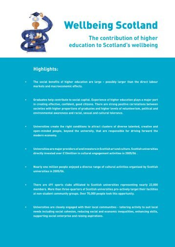Wellbeing Scotland 2007.pdf - Universities Scotland