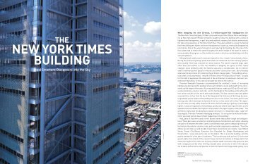 NEW YORK TIMES BUILDING - Steel Institute of New York