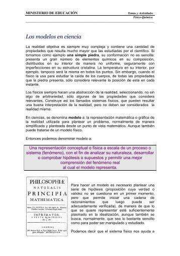 4-3S-Los modelos en ciencia - Escritorio de Educación Rural