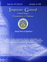 Security Assistance; and Logistics - Federation of American Scientists
