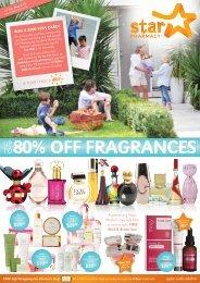 80% off fragrances - Star Pharmacy
