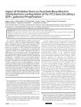 Impact of Oxidative Stress on Ascorbate Biosynthesis in - Page 2