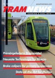 Neueste Technologie für Murcia Primärgefederte ... - Hanning & Kahl