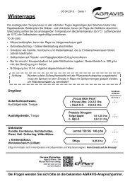 Winterraps - AGRAVIS Ems-Jade GmbH