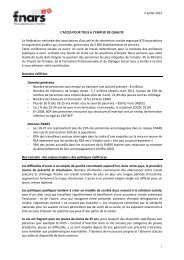 FNARS (Fédération nationale des associations d'accueil et de