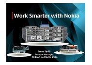Work Smarter with Nokia - Stallion