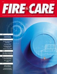 Customer magazine for Safety and Security Engineering and Hospital