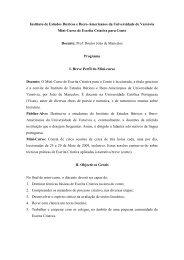 Programa dos Mini-Cursos de Escrita Criativa ... - IBERYSTYKA UW
