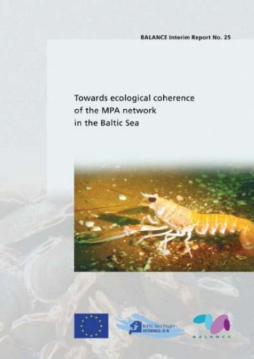 Towards ecological coherence of the MPA network in ... - BALANCE