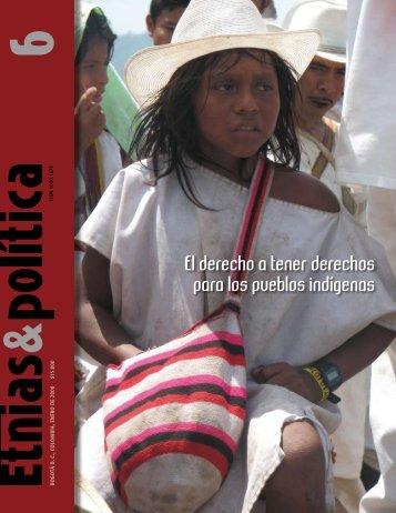 Revista Etnias & Política No 6 - Observatorio Étnico Cecoin
