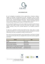 Nota Informativa nº8 - Conselho Empresarial do Centro