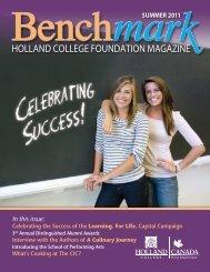 Benchmark Magazine - Holland College