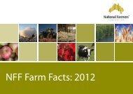 NFF Farm Facts 2012 - National Farmers' Federation
