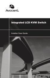 Integrated LCD KVM Switch Installer/User Guide - 42U.com
