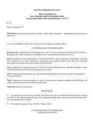 Leggi il provvedimento n. 81 - Il Parco del Conero
