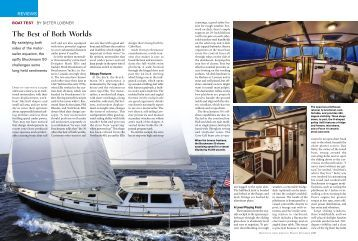 The Best of Both Worlds - Seaton Yachts