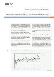 Broschüre Bevölkerungsstatistik (PDF, 1.6 MB) - Kanton Aargau
