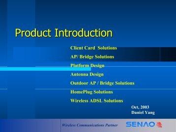 Wireless Communications Partner - Solution Box