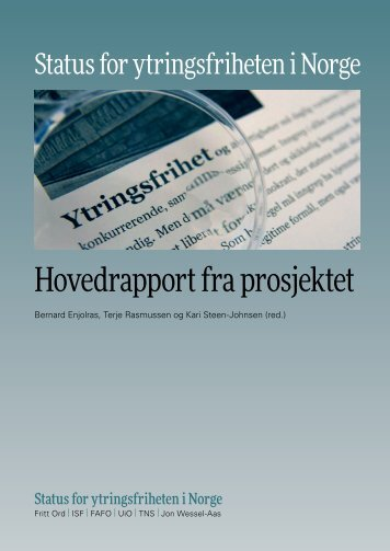 Ytringsfrihet Hovedrapport DIG (3)