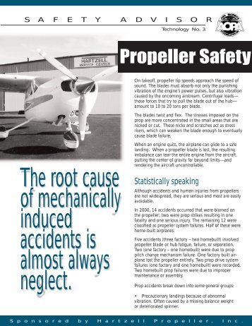 Propeller Safety (PDF, 798 KB) - Flight Training - Aircraft Owners ...