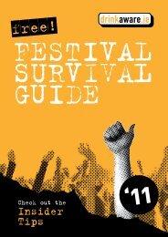 Festival Survival Guide 2011 - Drinksinitiatives.eu