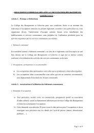 « REGLEMENT COMMUNAL RELATIF A L ... - Koekelberg